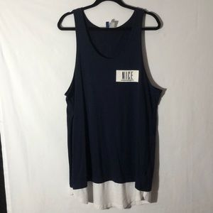 H&M Mens Summer Oversized Tank Top